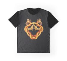 Intertwined dragons Graphic T-Shirt
