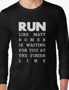 RUN - Matt Bomer 2 Long Sleeve T-Shirt