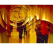 Stepping Through Time Abstract Surreal Art Photographic Print