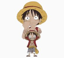 Young Pirate King One Piece - Short Sleeve