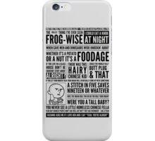 Bald Mank iPhone Case/Skin