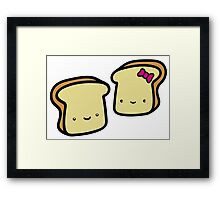 toast buddies Framed Print