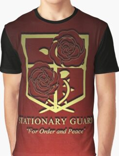 Attack on Titan Stationary Guard 3D Graphic T-Shirt