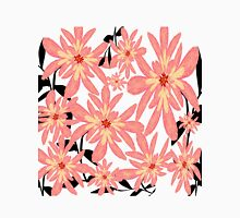 Peach Flowers Unisex T-Shirt