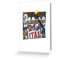 Collaboration Greeting Card