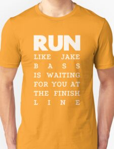 RUN - Jake Bass 2 Unisex T-Shirt