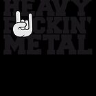 Heavy Fuckin Metal Hand by Style-O-Mat