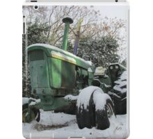 A Deere In The Snow iPad Case/Skin