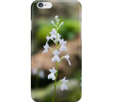 Snow white Flowers iPhone Case/Skin