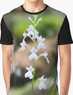 Snow white Flowers Graphic T-Shirt