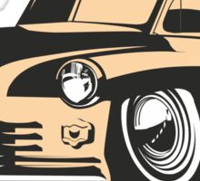cartoon retro car Sticker