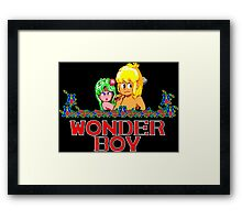 WONDER BOY - SEGA CLASSIC GAME Framed Print