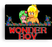 WONDER BOY - SEGA CLASSIC GAME Canvas Print