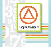 AA Anniversary Card by glomper