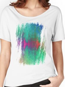 abstract wave Women's Relaxed Fit T-Shirt