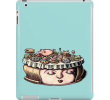 Dining Table Face iPad Case/Skin