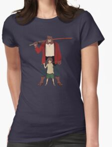 Boy and the beast Womens Fitted T-Shirt