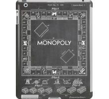 Monopoly Board Game US Patent Art 1935 Blackboard iPad Case/Skin