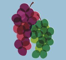 Retro Grapes Kids Tee