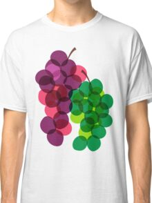 Retro Grapes Classic T-Shirt