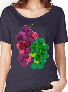 Retro Grapes Women's Relaxed Fit T-Shirt