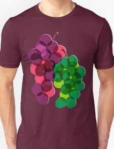 Retro Grapes Unisex T-Shirt