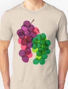 Retro Grapes Unisex T-Shirt