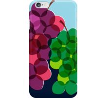 Retro Grapes iPhone Case/Skin