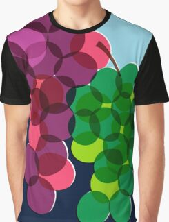 Retro Grapes Graphic T-Shirt