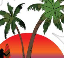 75 mile beach Fraser Island Australia Sticker