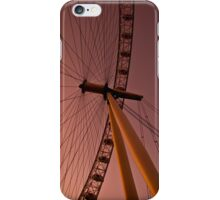 Evening by the London eye iPhone Case/Skin
