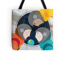 Astronauts in Space Tote Bag