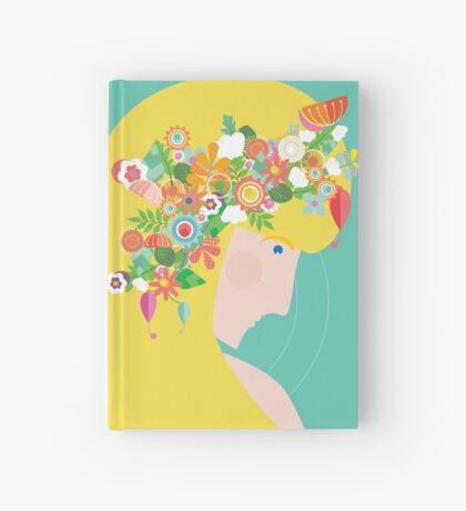 Flower Girl Hardcover Journal