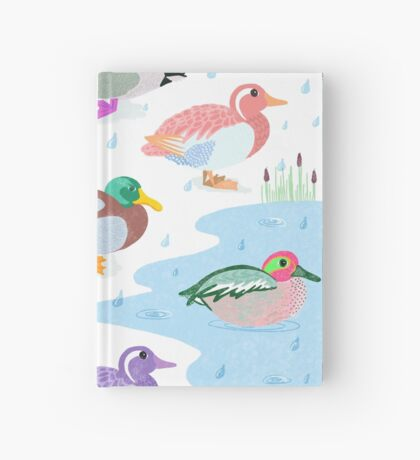 Nice Weather For Ducks Hardcover Journal