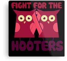 Breast Cancer Awareness Pink Metal Print