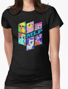 MLP MANE 6 Womens Fitted T-Shirt