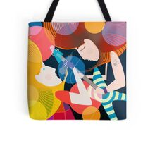 Live Rock Band Tote Bag