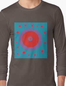 Decorative abstract design by Moma Long Sleeve T-Shirt