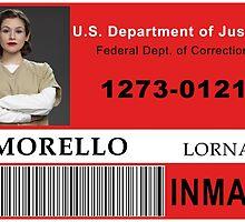Lorna Morello ID Badge by linked-pinkies