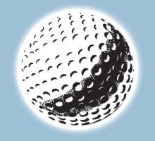GOLF, GOLFING, SPORT, Golf Ball, NAVY BLUE Kids Tee