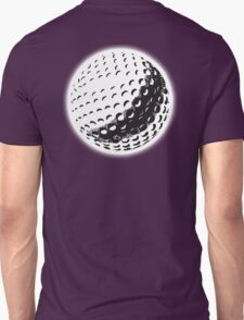 GOLF, GOLFING, SPORT, Golf Ball, NAVY BLUE Unisex T-Shirt