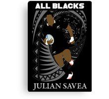 Julian Savea  Canvas Print
