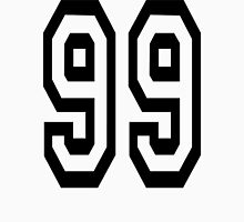 99, TEAM, SPORTS, NUMBER 99, Ninety Nine, Competition Unisex T-Shirt