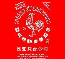 Sriracha Hot Sauce IPhone by chachi-mofo