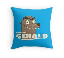 Finding Gerald Throw Pillow