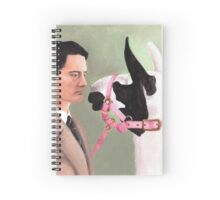 Twin Peaks - Coop & The Llama Spiral Notebook