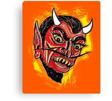 The Devil Himself  Canvas Print