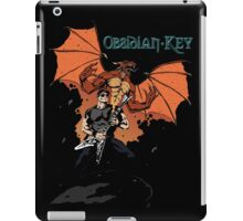 Obsidian Key - Sly Dragon and Sonic V - Progressive Rock Metal - Hand drawn iPad Case/Skin