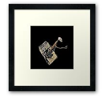 Are You Worthy?-Variation in White Framed Print
