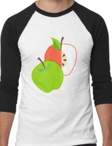Retro Apple Men's Baseball ¾ T-Shirt